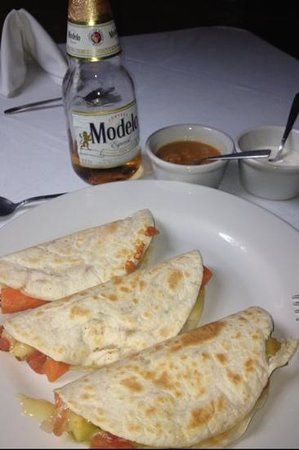 Xaloc Resort: quesadillas de verduras