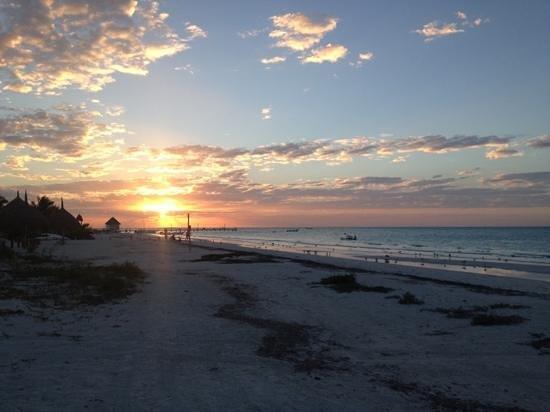 Xaloc Resort: puesta de sol