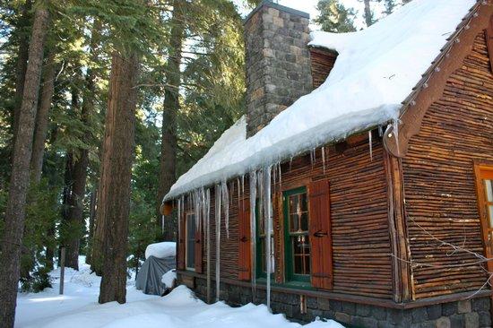 Cottage Inn:                   Winter wonderland!