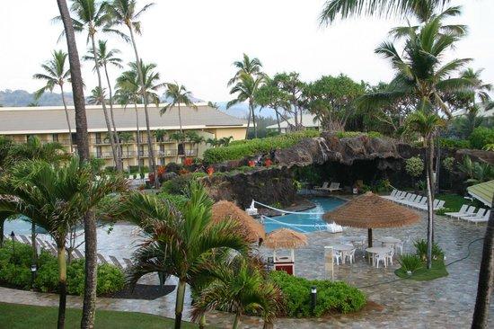 Kauai Beach Resort: Poollandschaft