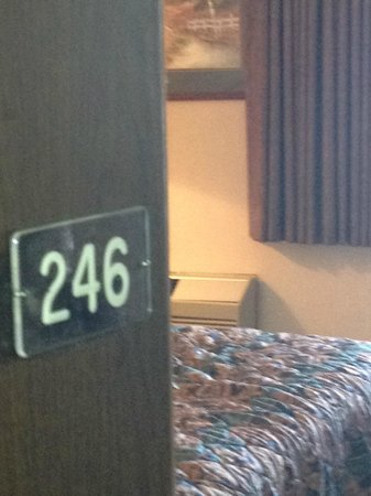Traveler Inn:                   Room we stayed in