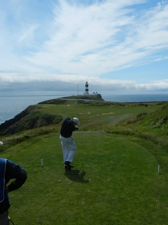 Old Head of Kinsale : spectacular golf hole, among many