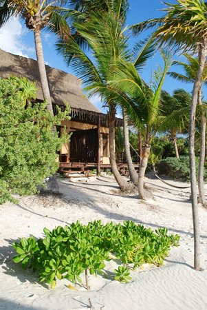 Hip Hotel Tulum: Beachfront cabana