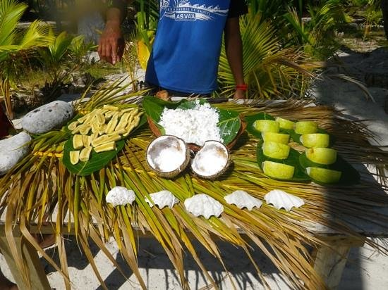 Sofitel Bora Bora Marara Beach Resort:                   snacks provided during activities
