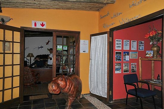 Umlilo Lodge B&B:                   Reception