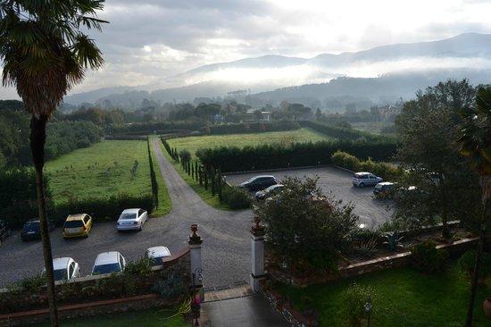 Hotel Villa Cheli: Vista dalla camera