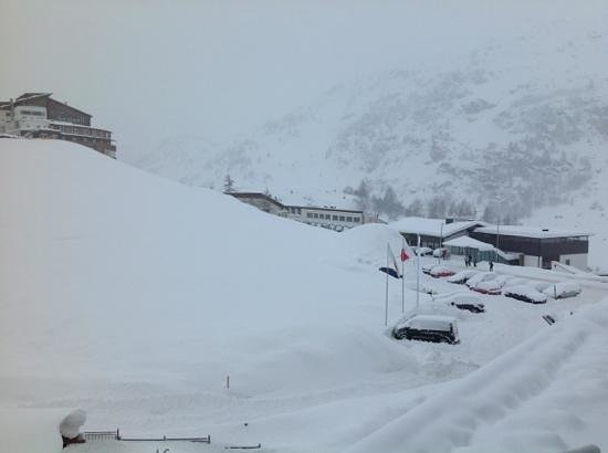 Alpen Wellness Resort Hotel Hochfirst: Blick aus meinem Fenster. Südbalkon