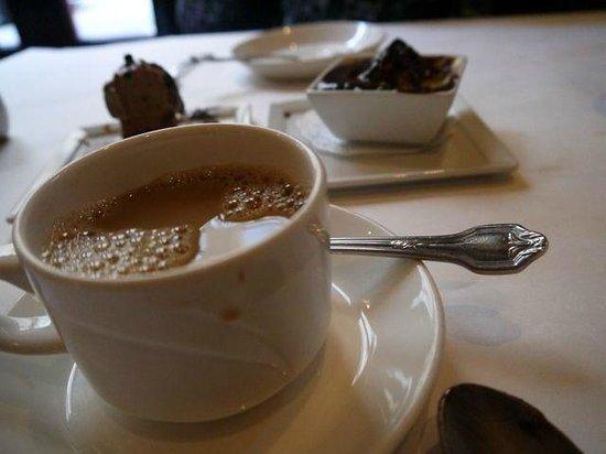 Scala's Bistro:                   Coffee and desserts