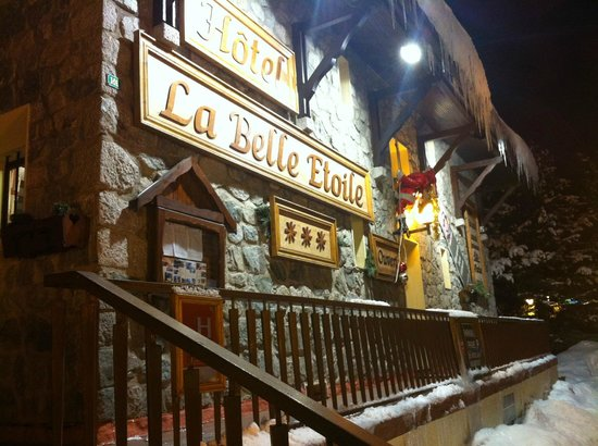 La Belle Etoile Hotel :                                     Hotels front aspect