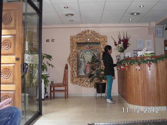 Villa San Blas : Reception