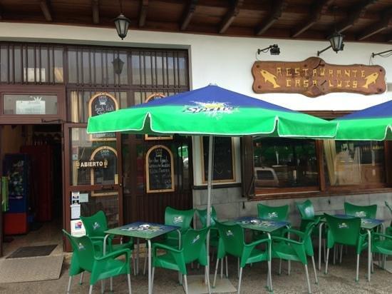 Casa Luis: fachada del restaurante