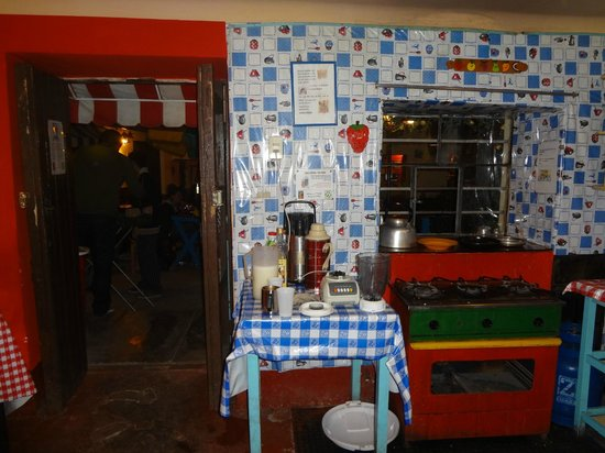 Hostal Magico:                   Kitchen