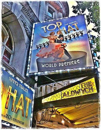 Aldwych Theatre:                                     Top Hat at the Aldwych