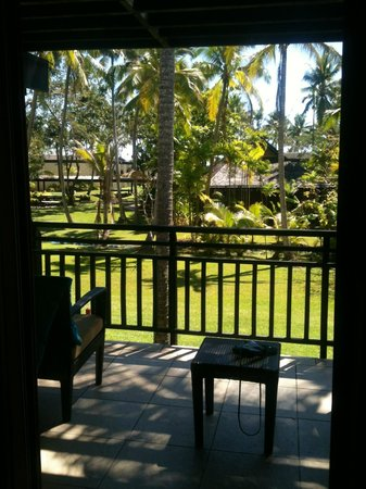 The Westin Denarau Island Resort & Spa Fiji:                   View from Garden Room - So Peaceful!