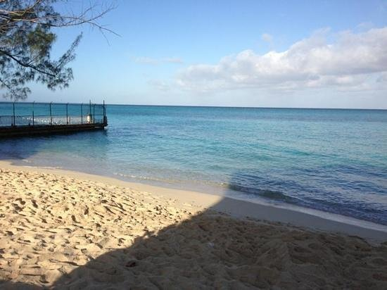 Sandals Inn:                   the public beach is small but the water is amazing!