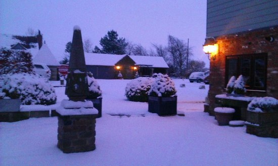 Yarm Cottages:                   The view from The Store