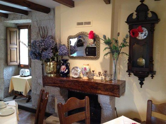 Casa Grande de Soutullo : Area de desayuno