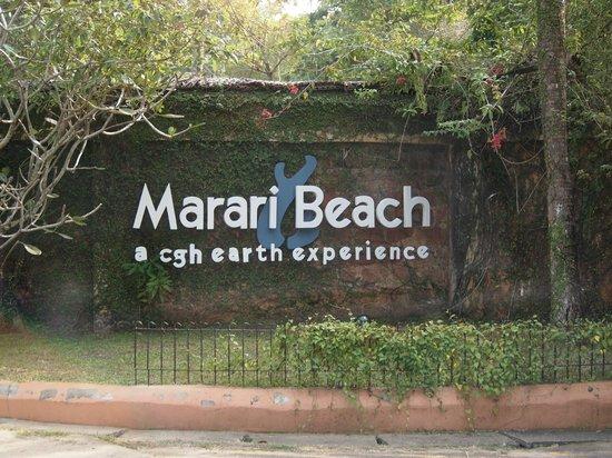 Marari Beach Resort:                   front entrance