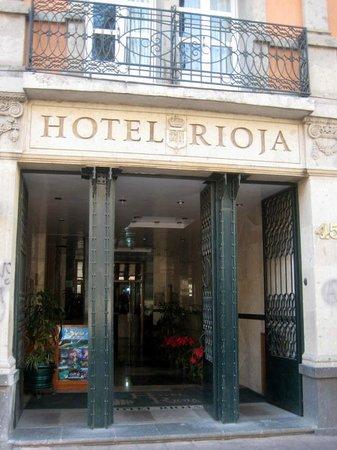 Hotel Rioja: arriving