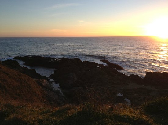 MacCallum House Inn: Sunset in Mendocino