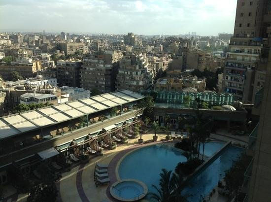 Four Seasons Hotel Cairo at Nile Plaza:                   City view