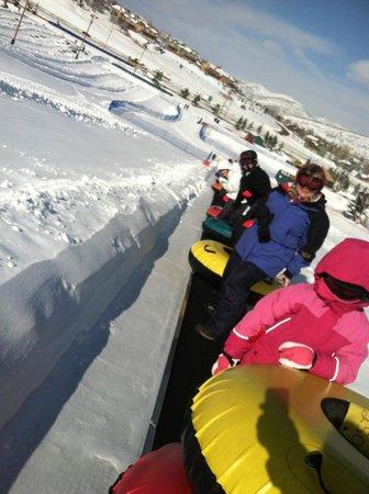 Gorgoza Park :                   a ride to the small hill