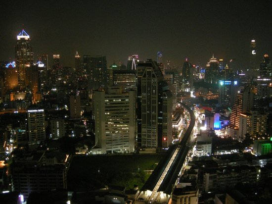 Sofitel Bangkok Sukhumvit : View from roof terrace, L'Appart