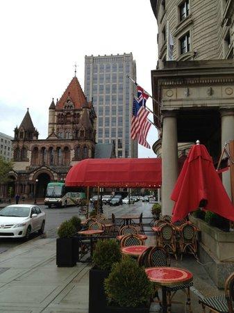 Fairmont Copley Plaza, Boston: Hotel & Surroundings