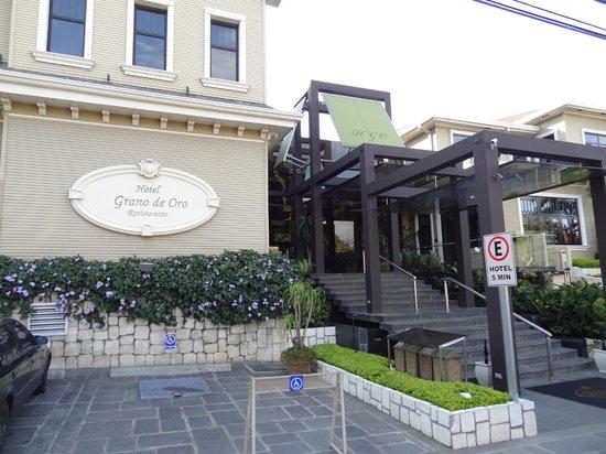 Hotel Grano de Oro San Jose:                   Street view of hotel