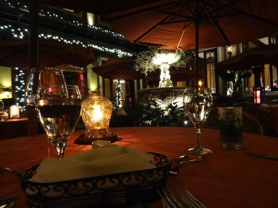 Hotel Grano de Oro San Jose:                   Restaurant - outside seating