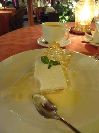 "Hotel Grano de Oro San Jose:                   ""Tres Leches"" - Typical Costa Rican dessert.  The best we had!"