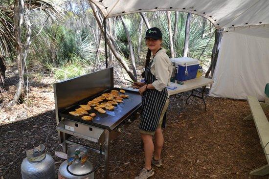Kangaroo Island Odysseys: Il pranzo