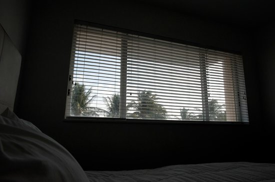 Casa Grande Suite Hotel of South Beach : Wide angle window view from bed