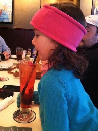 Ruby Tuesday:                   shirley temple makes the kiddos smile