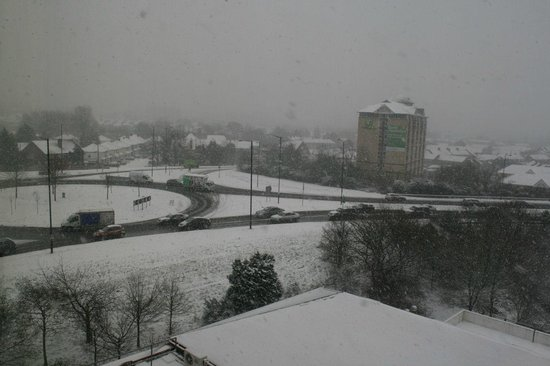 Copthorne Hotel Slough - Windsor:                   View from the room