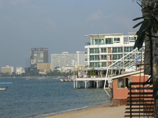 Siam Bayshore: View towards Pattaya