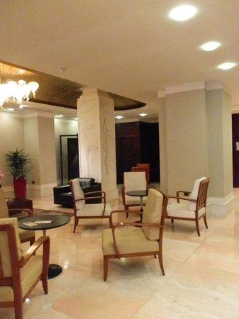 Hotel delle Nazioni: el lobby