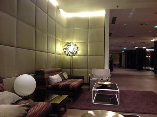 Eurostars Budapest Center Hotel:                   lobby