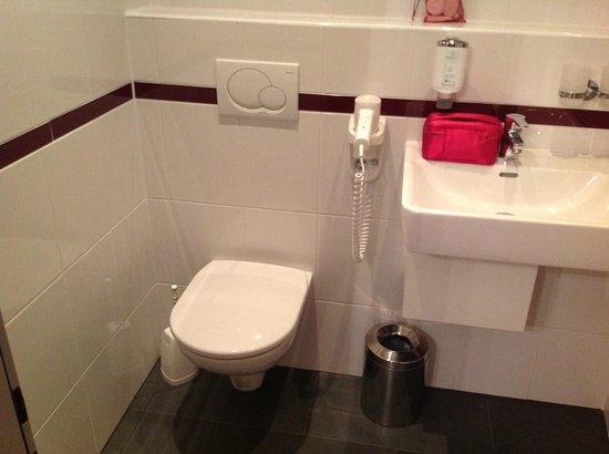 Hotel Fürst Metternich:                   Clean, updated bathroom