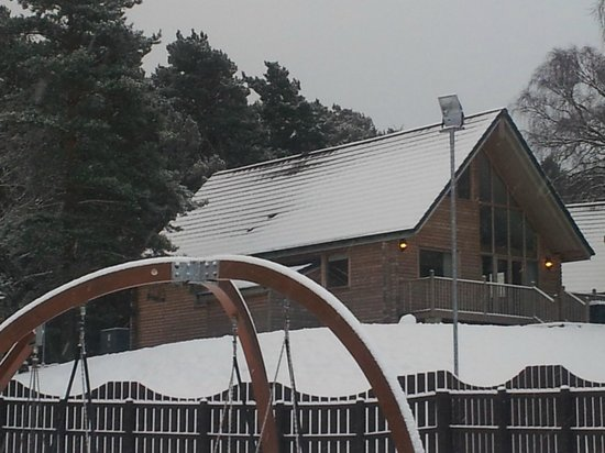 Luxury Woodland Lodges at Macdonald Aviemore Resort