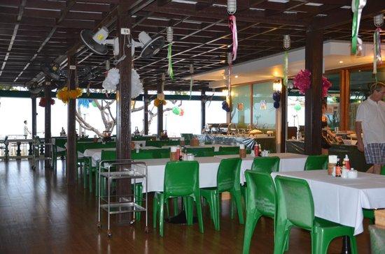 โรงแรมสายลม:                   restaurant