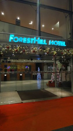 Twin room picture of forest hill paris la villette - Hotel forest hill porte de la villette ...