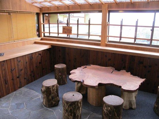 Taketoritei Maruyama: Sitting area - onsen