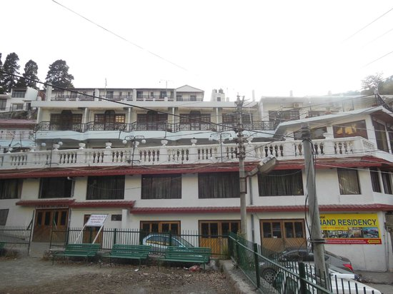 Hotel Nand Residency:                   Hotel Exterior