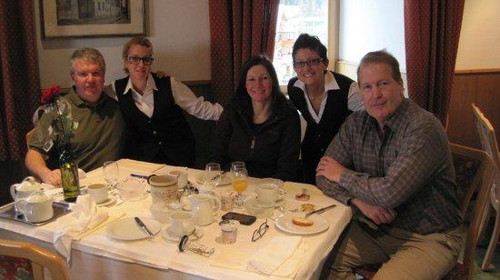 Hotel Alpino Plan:                   Friends and Staff
