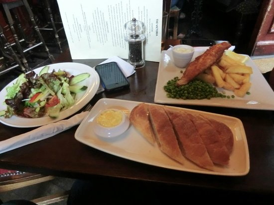 The Victoria: the food