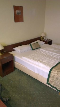 Hotel Hungaria City Center: bed