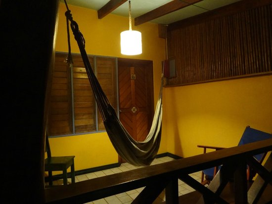 Hotel Guarana:                   Balcony with a hammock!