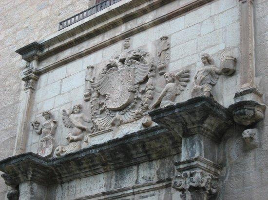Museo de Jaén: Detalle de la antigua fachada del Posito (siglo XVI)