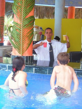Grand Bahia Principe Punta Cana:                   Swim Up Bar :)